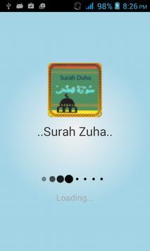 Surah Zuha apk screenshot