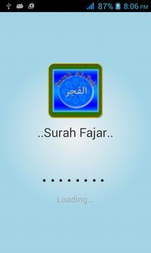 SurahFajar poster