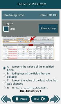 PL ENOV612-PRG Dassault Exam apk screenshot