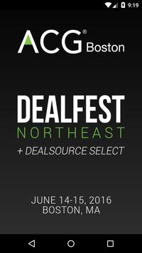ACG Boston DealSource Select poster