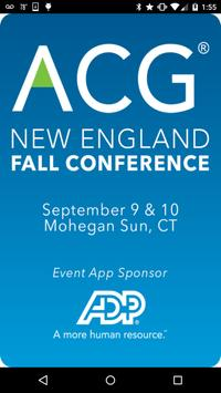 ACG New England Fall Conf poster