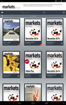 markets Germany poster