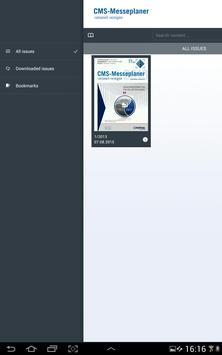 Messeplaner zur CMS apk screenshot