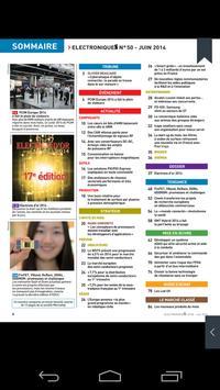 Magazine ElectroniqueS apk screenshot