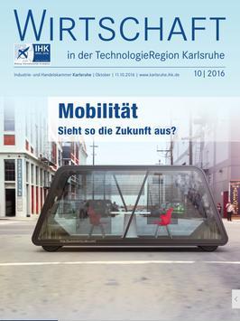IHK Karlsruhe IHK-Magazin poster