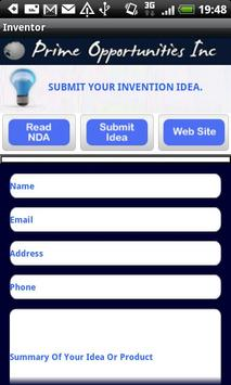 Inventors Submit Your Idea's apk screenshot