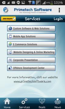 Primetech Software apk screenshot