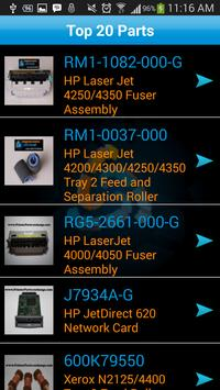 Printer Parts Exchange apk screenshot