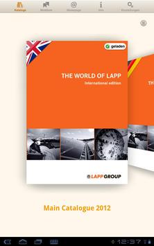 Lapp Group Catalogue poster