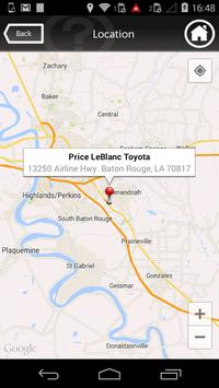 Price LeBlanc Toyota apk screenshot