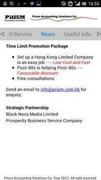 Prism Accounting apk screenshot