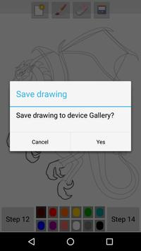 How to Draw Dragons apk screenshot