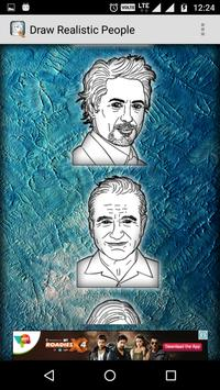 How to Draw Realistic People apk screenshot