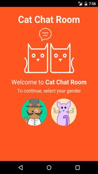 Cat Chat Room poster