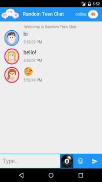 Random Teen Chat apk screenshot