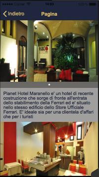 Planet Hotel Maranello apk screenshot