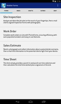 AT&T Mobile Forms apk screenshot