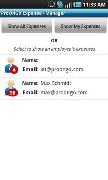 ProOnGo - Expense Tracker apk screenshot