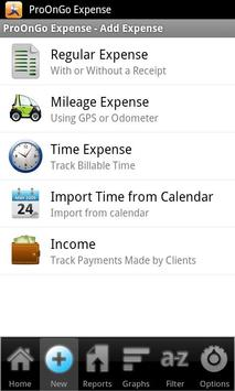 ProOnGo - Expense Tracker poster