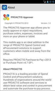 PROACTIS Approver poster