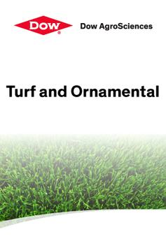Dow Turf and Ornamental poster
