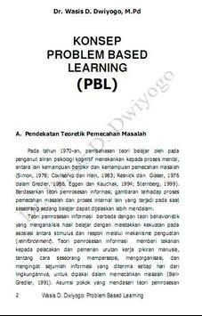 Wasis: PBL Sbg Strategi Pembel apk screenshot