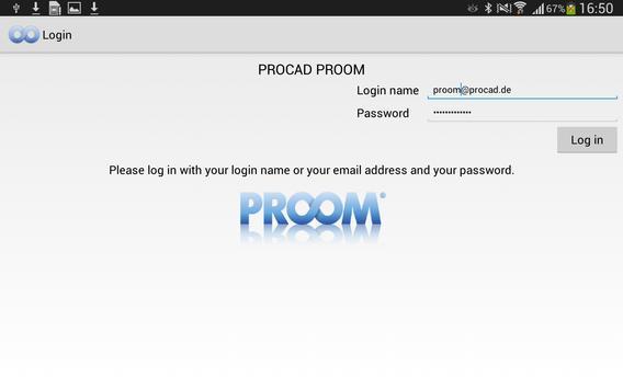 PROOM apk screenshot
