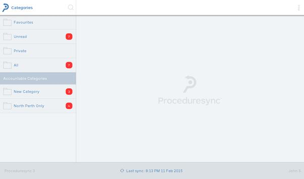 Proceduresync® apk screenshot