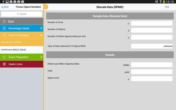 Lean Six Sigma Coach Lite apk screenshot