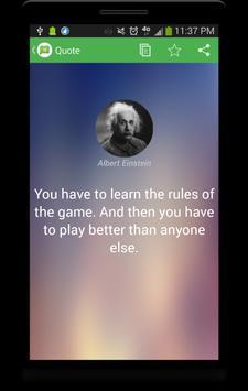 Brilliant Quotes apk screenshot