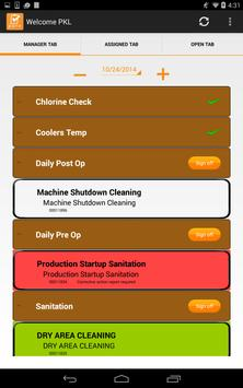 PPro Food Safety App poster