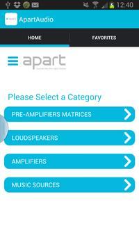 Apart Audio poster