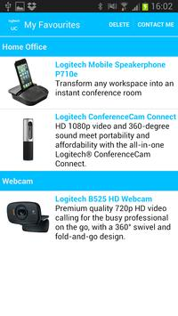 Logitech UC apk screenshot
