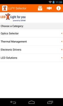 LLFY Selector apk screenshot