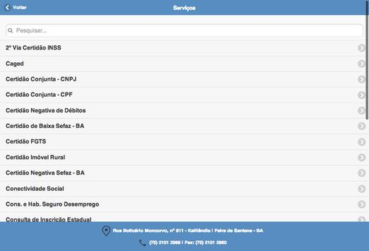 ContasContabilidade apk screenshot