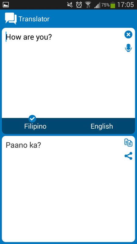 Tagalog English Dictionary Offline APK Download Free