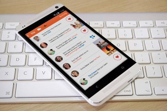 Trix - social groups messenger apk screenshot