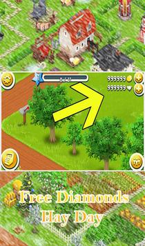 Unlimited Diamonds Hay Day apk screenshot