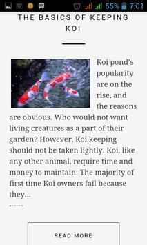 Koi Fish Guide apk screenshot