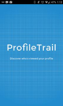 ProfileTrail - who's viewed me poster