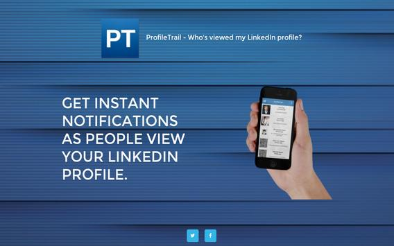 ProfileTrail - who's viewed me apk screenshot
