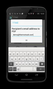 Thermotrack Mobile Edition apk screenshot