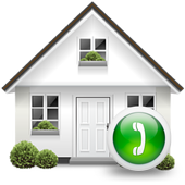 a Home Call - Simple Contacts icon