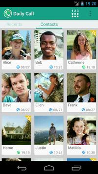 Daily Call - Fastest Contacts apk screenshot