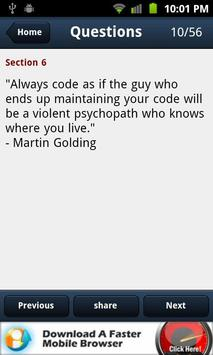 Software Development Quotes apk screenshot