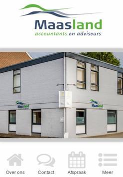 Maasland Accountants poster