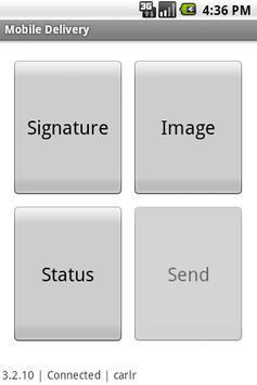 Mobile Delivery apk screenshot