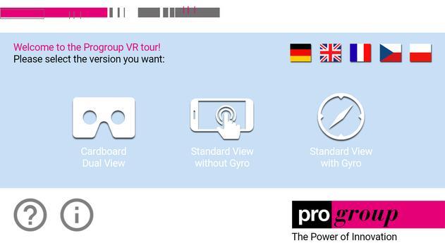 Progroup VR poster