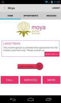 Moya - Beta App poster