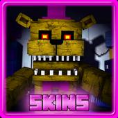 Skins for MInecraft PE - FNAF icon